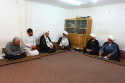 دیدار ریاست دانشگاه مذاهب اسلامی با آیت الله بشیر نجفی درعراق