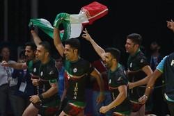 المنتخب الوطني الإيراني للكبادي يتوج بطلا لآسيا