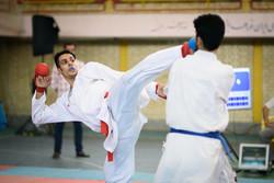منافسات البطولة الوطنية للكاراتيه في ايران / صور