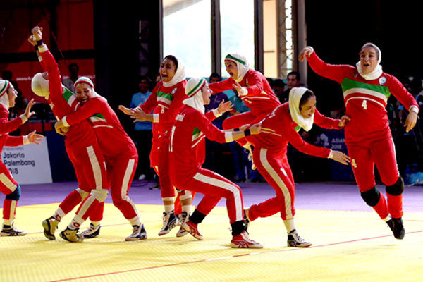 Iran men, women win Asian Games 2018 kabaddi c'ship