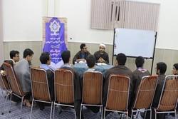 حضور استاد مصری شیخ محمد فهمی عصفور در جمع قاریان طرح اسوه