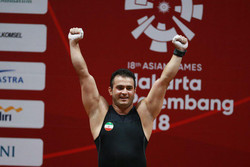 Moradi earns weightlifting gold in Asiad