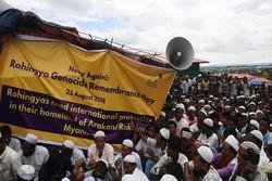 دهها هزار مسلمان روهینگیائی در بنگلادش تظاهرات کردند
