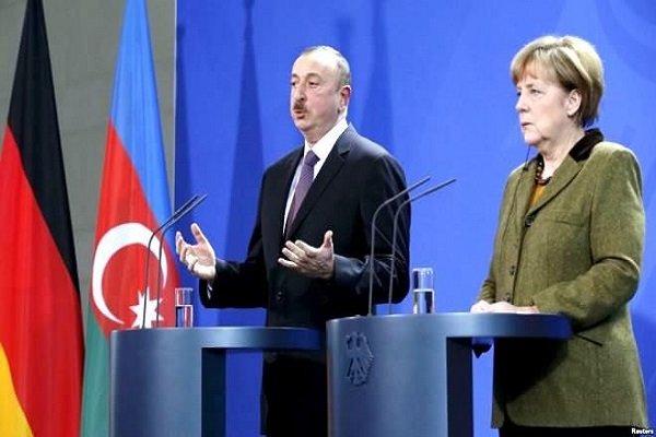 Merkel ile Aliyev Bakü'de bir araya gelecek