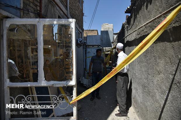 Water heater explosion in Mashhad