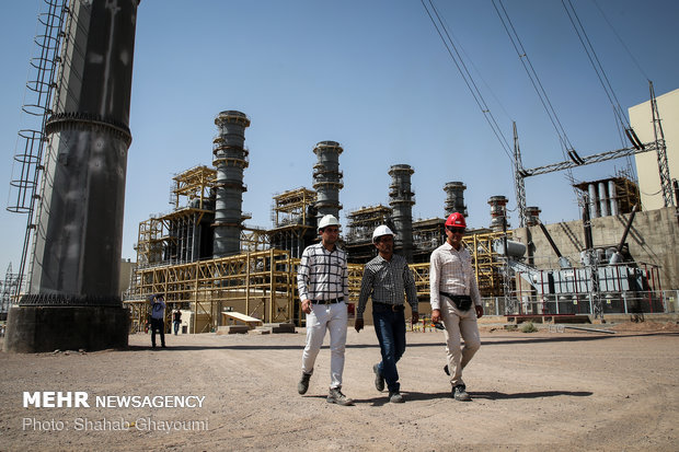 Inauguration of Parand combined-cycle power plant