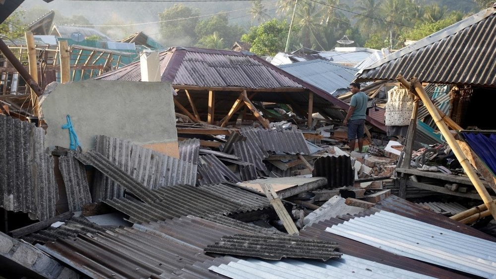 Indonesian earthquake death toll reaches 555