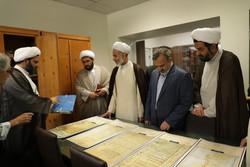 موزه و کتابخانه وقف با حضور رئیس سازمان اوقاف افتتاح شد