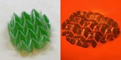 ابداع ماده ای که با نور و گرما تغییر شکل می دهد