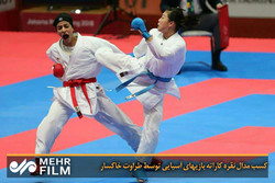Two Iranian female practitioners advance to final in Karate 1 Series A