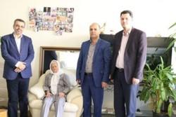 عیادت رئیس دانشکده علوم اجتماعی دانشگاه علامه از خیر قدیمی