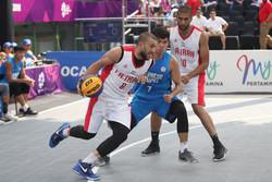 تیم بسکتبال سه نفره مردان به مرحله نیمهنهایی صعود کرد