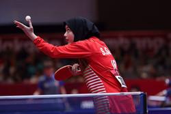 پایان کار پینگپنگبازان ایران با کسب عنوان هفتم و هشتم تیمی