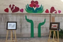 برپایی نمایشگاه آثار هنری به نفع مادران در حال بهبود از اعتیاد