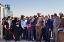 یک طرح آبیاری نوین در شهرستان بوئین زهرا افتتاح شد