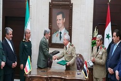 Iran, Syria sign technical, defense coop. agreement