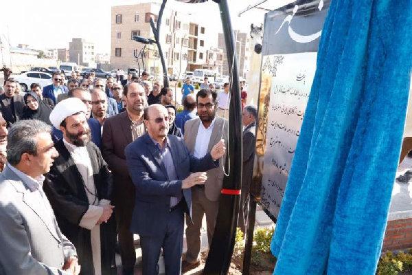 ۹ طرح عمرانی و خدماتی در شهرستان بوئین زهرا افتتاح شد
