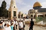 تعرض شهرکنشینان صهیونیست به مسجدالاقصی