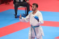 """İranlı karateciden Endonezya'da """"altın"""" başarı"""