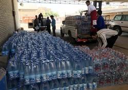 توزیع بیش از ۶۴ هزار لیتر آب بهداشتی میان روستاهای خوزستان