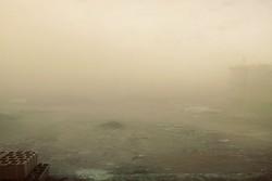 آسمان برخی مناطق استان کرمان غبار آلود است/ افزایش سرعت وزش باد
