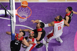 Iran's basketball routs Japan, advances to semifinals