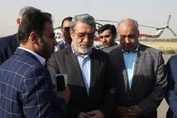 بازدید وزیر کشور از مناطق زلزله زده کرمانشاه