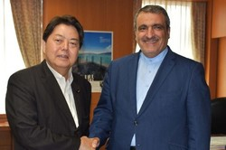 Japanese minister calls for close ties with Tehran