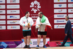 Gold, silver medals for Iranian weightlifters