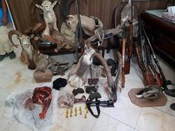 دستگیری ۳ نفر شکارچی غیرمجاز در پارک ملی لار