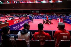 پینگ پنگ بازان ایران در کاپ آسیا یازدهم شدند
