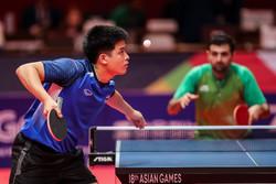حذف یک بازیکن از ترکیب تیم ملی تنیس روی میز در مسابقات قهرمانی آسیا