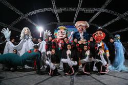 مهرجان الدمي الدولي في شوارع طهران/صور