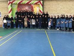دختران آذربایجان شرقی قهرمان بدمینتون کشور شدند