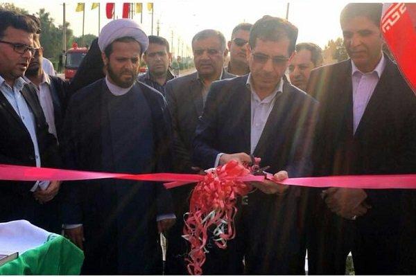 ۱۰ پروژه در شهرستان تنگستان به بهرهبرداری رسید