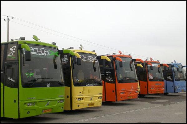 ۲۰دستگاه اتوبوس بسیجیان را در تجمع بزرگ عاشورائیان جابجا کردند
