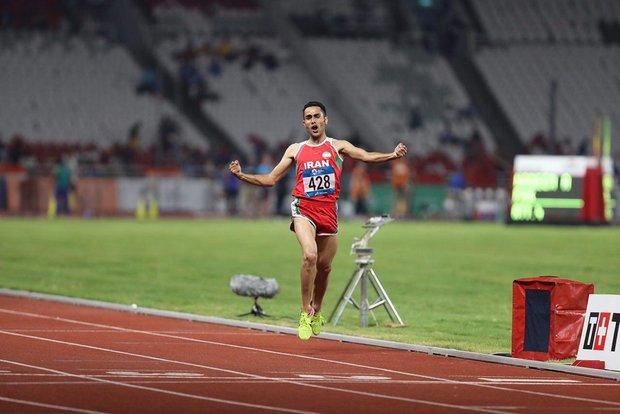 تغییر زمان برگزاری رقابت دونده ایران در فینال دوی ۵۰۰۰ متر