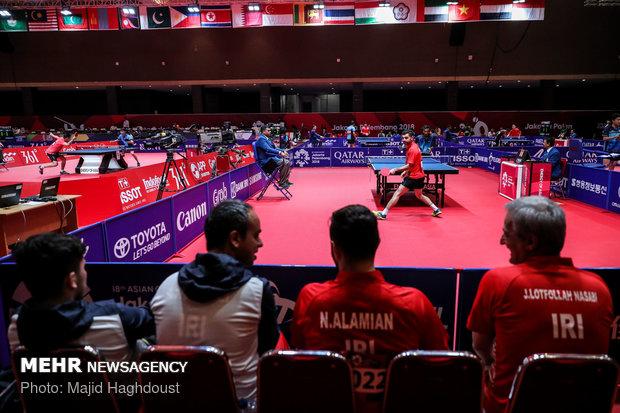 مسیرجهانی تیم ملی تنیس روی میز/حضور در دو رویداد و یک اردوی مشترک