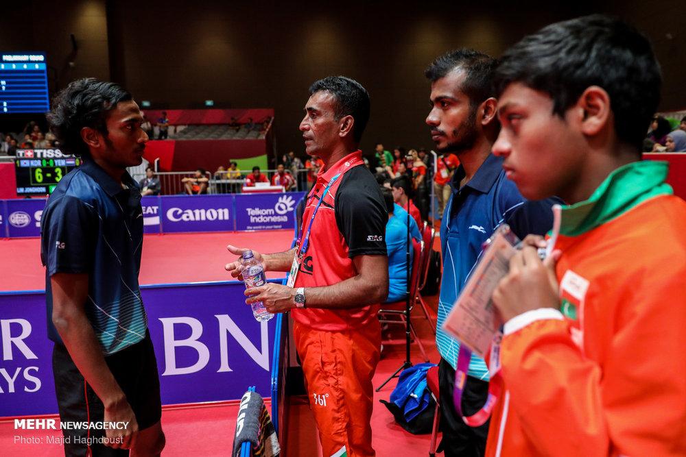 مسابقات تنیس روی میز در جاکارتا