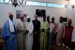 رؤساء المراكز الإسلامية في غينيا يدعمون إيران في مواجهة الاعمال العدائية الأمريكية