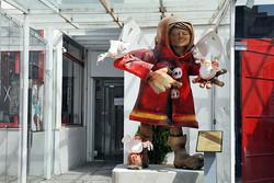 یادمان آتشنشانان فداکار از «تالار وحدت» به «پالیز» رفت