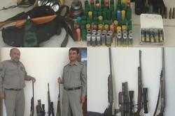 دستگیری باندشکارچیان/ متخلفان تبعه کشورهای حاشیه خلیج فارس هستند