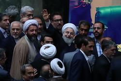الجلسة العلنية لمجلس الشورى الاسلامي المخصصة لسؤال رئيس الجمهورية
