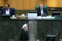 لاريجاني: تقرير أسئلة النواب وأجوبة روحاني لن يرفع إلى القوة القضائية