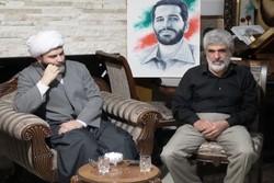 دیدار صمیمانه رییس سازمان تبلیغات اسلامی با خانواده شهید احمدی روشن
