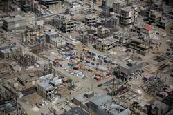 تصاویر هوایی از مناطق زلزله زده کرمانشاه