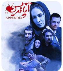 "A poster for ""Appendix"" by Hossein Namazi"