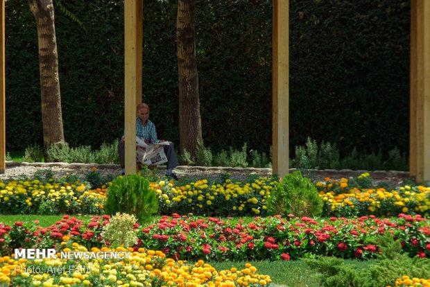 6th Intl. Flower Exhibition underway in Karaj