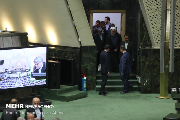 Rouhani in Parl. to answer MPs' questions