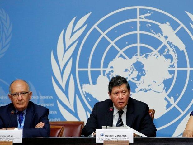 اقوام متحدہ نے میانمار فوج کے سربراہ کو مسلمانوں کی نسل کشی کا ذمہ دار قراردیدیا